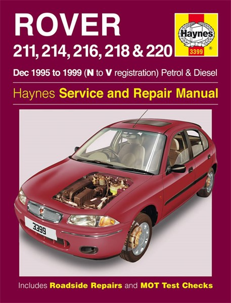 download ROVER MG 214 414 workshop manual
