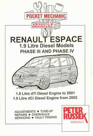 download Renault Espace IV workshop manual