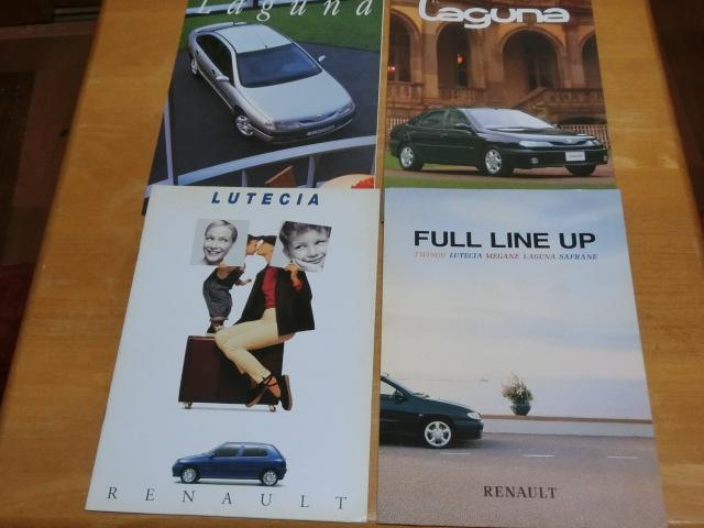 download Renault Lutecia I workshop manual
