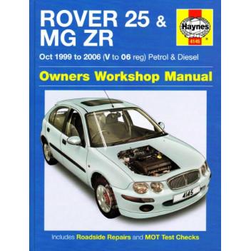download Rover 25 workshop manual