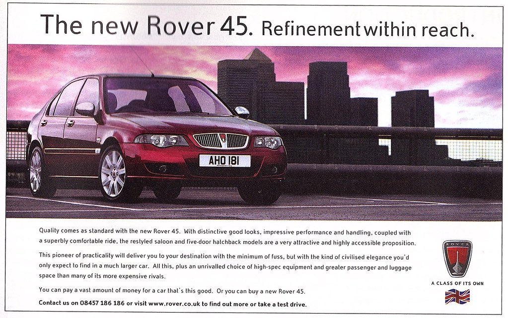 download Rover 45 workshop manual