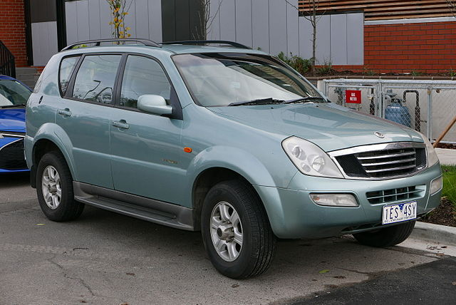 download SSANGYONG Y200 RX290B workshop manual