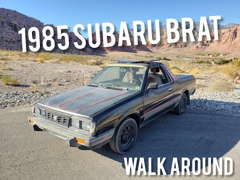 download SUBARU BRAT Shop workshop manual