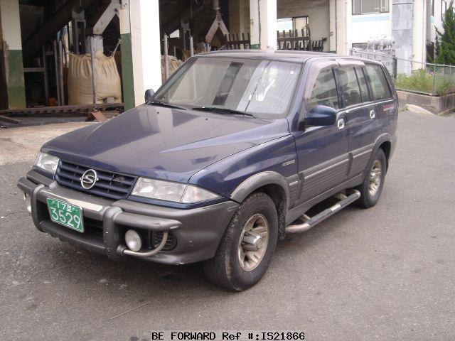 download Ssangyong Musso Musso Sports  20 workshop manual