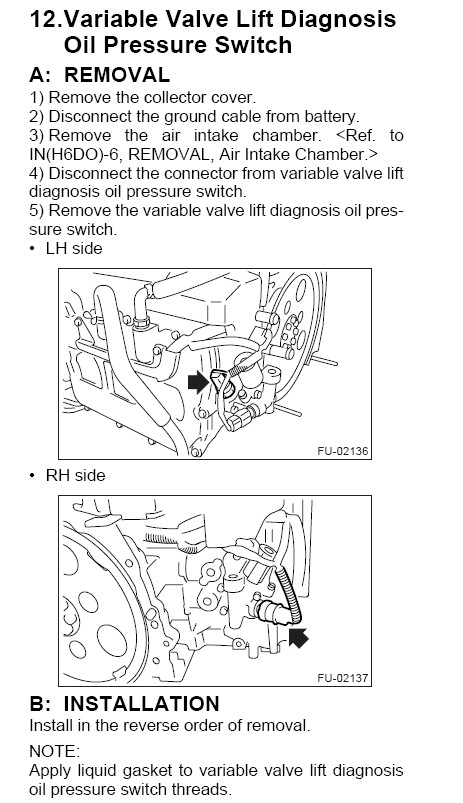 download Subaru B9 Tribeca workshop manual