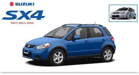 download Suzuki SX4 RW415 RW416 RW420 workshop manual