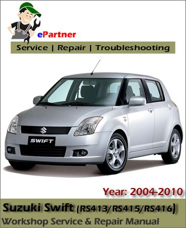 download Suzuki Swift RS413 RS415 RS416 workshop manual