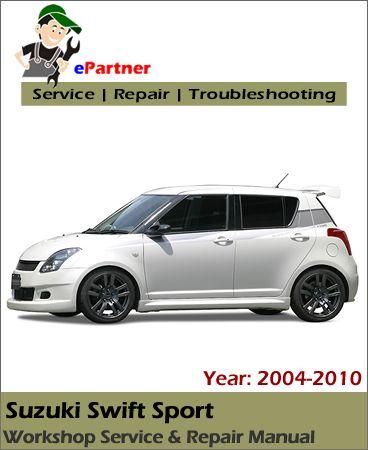 download Suzuki Swift Sport workshop manual