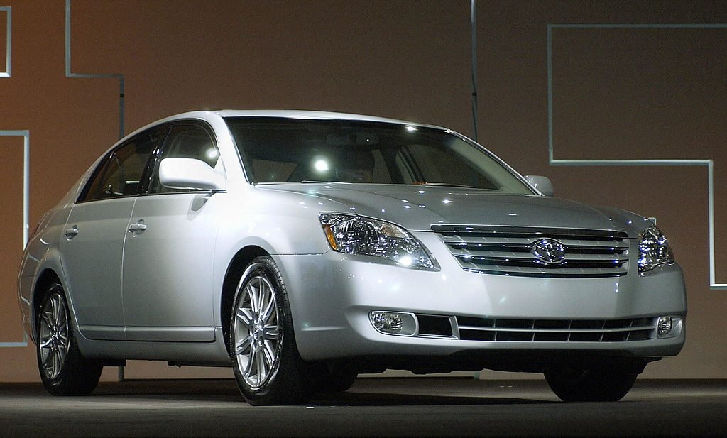 download Toyota Avalon workshop manual