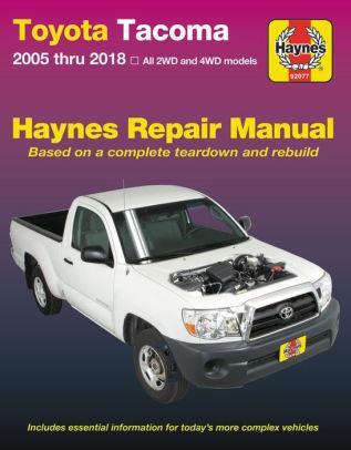download Toyota Pickup workshop manual