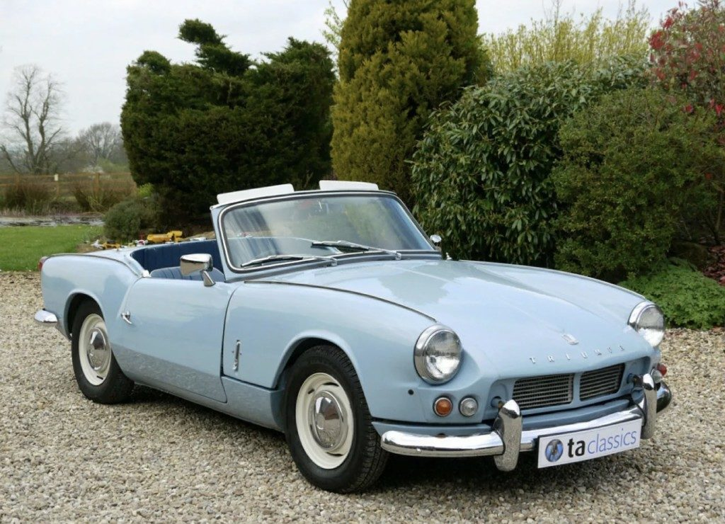 download Triumph Spitfire 4 MK I workshop manual