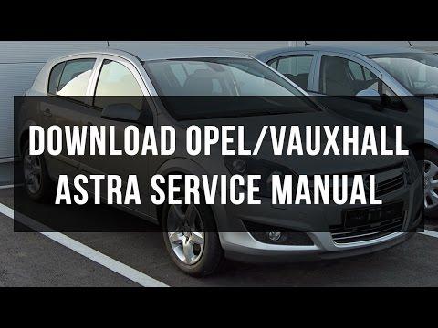 download VAUXHALL ASTRA J workshop manual
