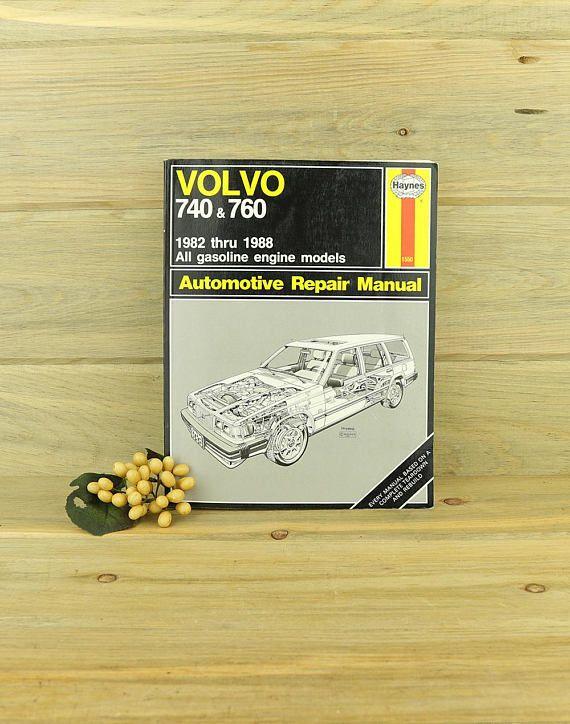 download VOLVO 740 760 Shop workshop manual