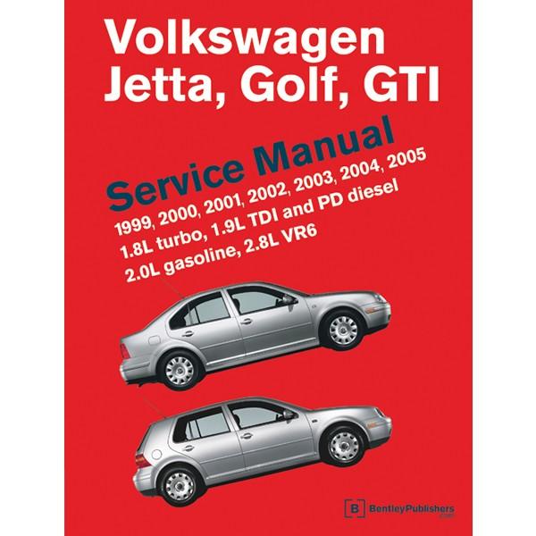 download VW JETTA GOLF GTI MK4 VR6 workshop manual