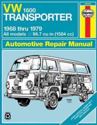 download VW Volkswagen Transporter type2 1600 workshop manual
