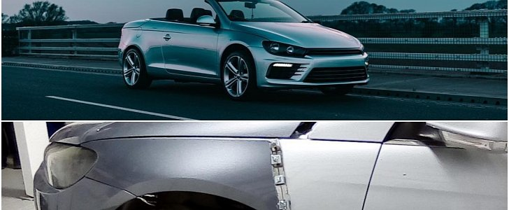 download Volkswagen CABRIOLET SCIROCCO workshop manual